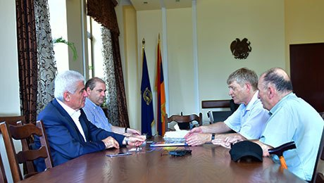 NEW OPPORTUNITIES IN SPHERE OF ARMENIAN STUDIES: LEADERS OF  CENTRE FOR ARMENIAN STUDIES OF HEBREW UNIVERSITY OF JERUSALEM VISIT YSU