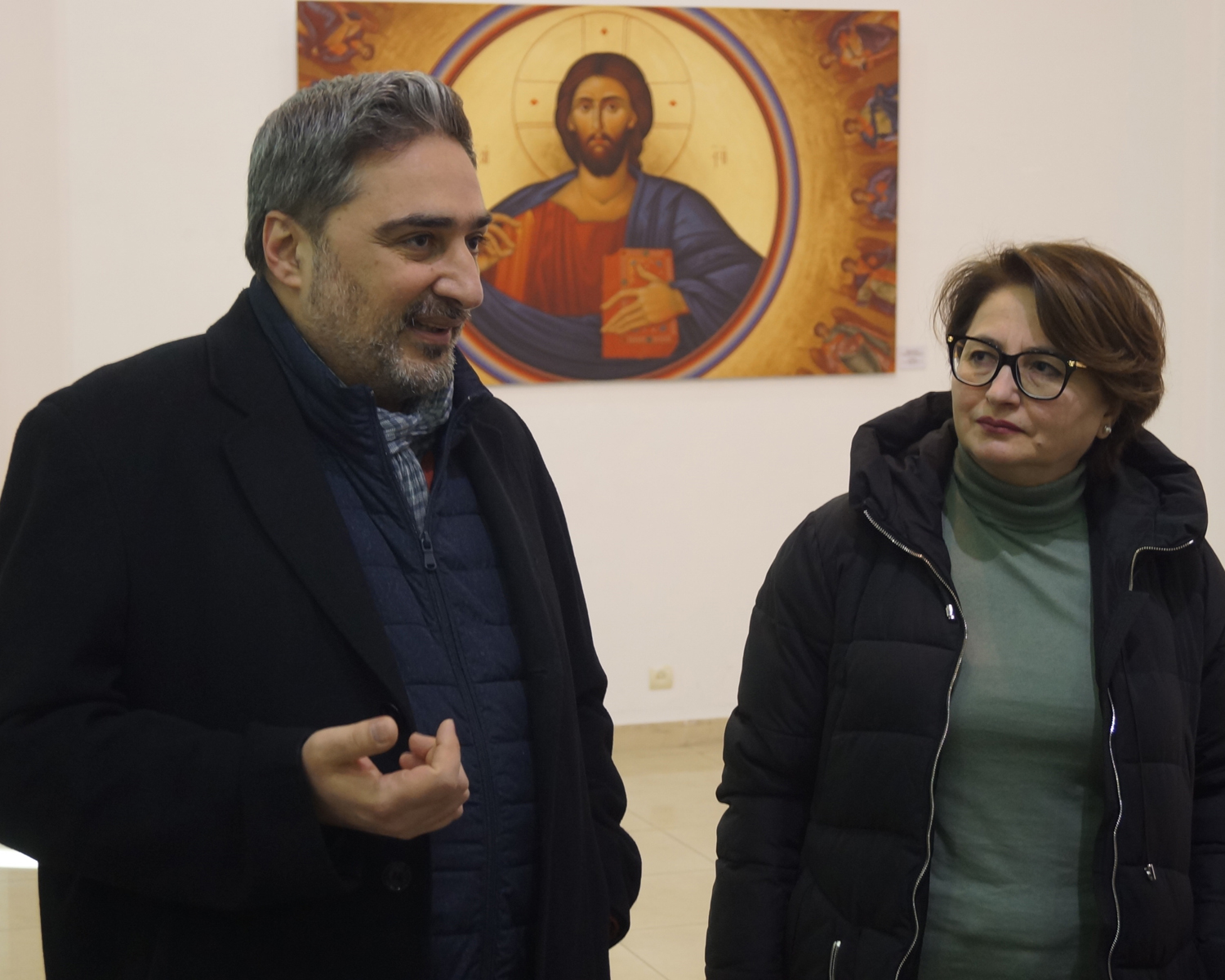 "Discussion of the exhibition - ""The Image of Jesus Christ in the 20th Century and contemporary Armenian Art"""