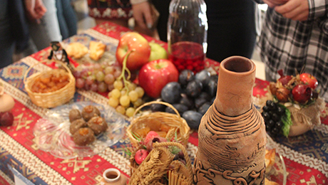 Shades of armenian cuisine in the faculty of philosophy for Armenian national cuisine
