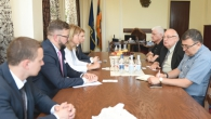 YSU ADMINISTRATION MET WITH SAINT PETERSBURG SCIENCE AND HIGHER EDUCATION COMMISSION MEMBERS