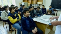 "PUPILS OF ""BYURAKN"" EDUCATIONAL CENTER VISIT YSU FACULTY OF CHEMISTRY"