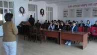 UNIVERSITY DELEGATION VISITS HIGH SCHOOL N4 IN GORIS