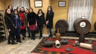 STUDENTS VISITED YEREVAN ARARAT BRANDY-WINE-VODKA FACTORY
