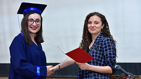 EDUCATION IS A LONG-LASTING PROCESS: GRADUATION DIPLOMAS RE HANDED AT FACULTY OF EUROPEAN LANGUAGES AND COMMUNICATION