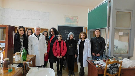 """YSU HAS BECOME OUR BEST FRIEND"": PUPILS OF YEREVAN SCHOOL N 198 ARE AT YSU"