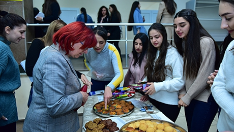 CHARITY EVENT AT YSU FACULTY OF EUROPEAN LANGUAGES AND COMMUNICATION