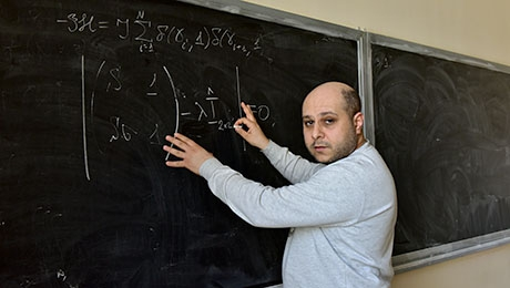 ASSISTANT PROFESSOR OF SCHOOL OF SCIENCE OF UNIVERSITY OF NOVA GORICA, SLOVENIA DR.ARTEM BADASYAN CONDUCTS A SEMINAR AT THE CHAIR OF THEORETICAL PHYSICS