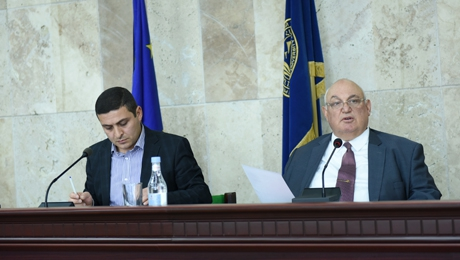 RESULTS OF ELECTION OF DEANS OF THE FACULTIES WERE APPROVED: SESSION OF YSU ACADEMIC COUNCIL WAS HELD