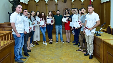 IMPROVEMENT OF THEORETICAL KNOWLEDGE AND APPLICATION OF PRACTIAL SKILLS: FUTURE LAWYERS PARTICIPATE IN PRACTICAL COURSE