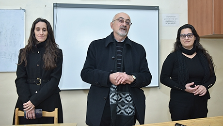 ROSARIO NATIONAL UNIVERSITY REPRESENTATIVES HELD A SEMINAR AT THE FACULTY OF HISTORY