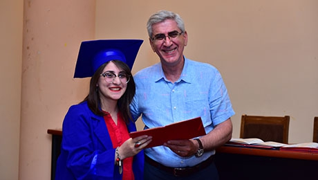 CEREMONY OF HANDING DIPLOMAS AT FACULTY OF PHILOSOPHY AND PSYCHOLOGY